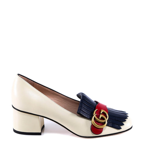 Gucci GG Marmont Loafer Pumps