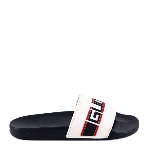Gucci Logo Rubber Slides