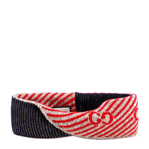Gucci GG Stripe Knit Headband