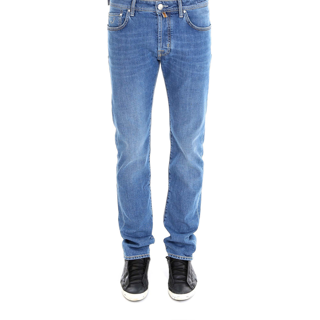 Jacob Cohen Washed Slim Fit Jeans