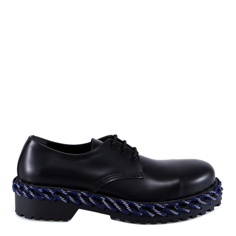 Balenciaga Cord Detail Lace-Up Shoes
