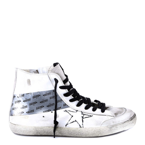 Golden Goose Deluxe Brand Embellished High-Top Sneakers