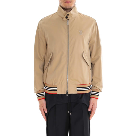 Burberry Icon Stripe Bomber Jacket