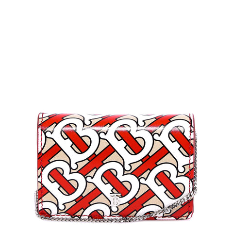 Burberry Monogram Print Card Case
