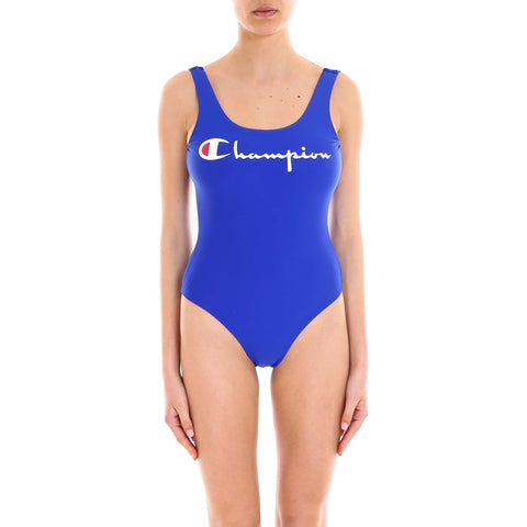 Champion Reversible Logo Swimsuit