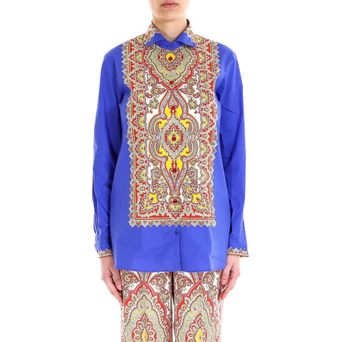 Etro Printed Button-Up Shirt