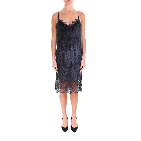 Semi Couture Sequinned Mini Dress