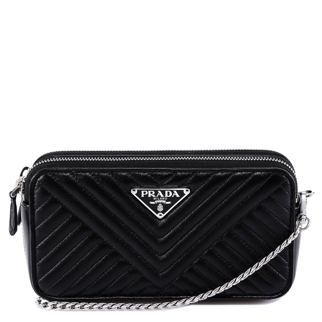 Prada Quilted Chain Strap Shoulder Bag
