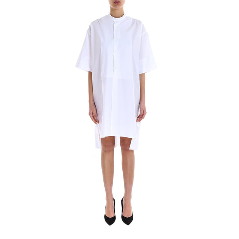Faye Button-Front Shirt Dress