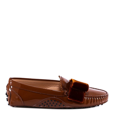 Tod's Glossy Studded Loafers