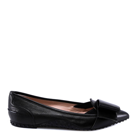 Tod's Strap Detail Flat Shoes