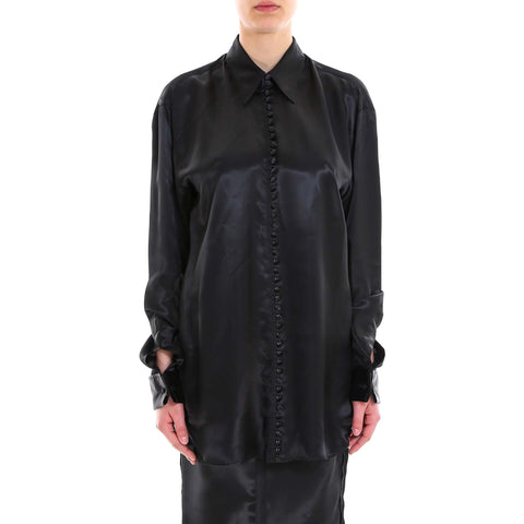 Mm6 Maison Margiela Printed Oversized Shirt