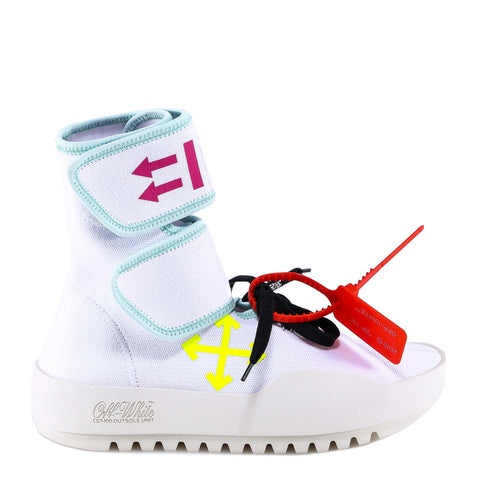 Off-White Double-Strap Arrow Sneakers