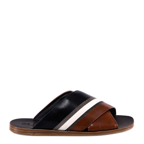 Brunello Cucinelli Crossed Sandals