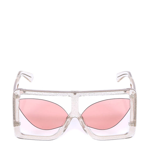 GCDS Oversized Frame Sunglasses
