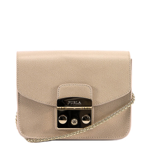 Furla Logo Mini Metropolis Crossbody Bag