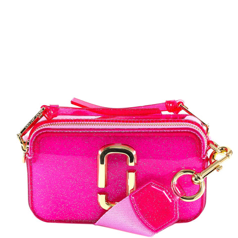 Marc Jacobs Jelly Glitter Snapshot Small Camera Bag