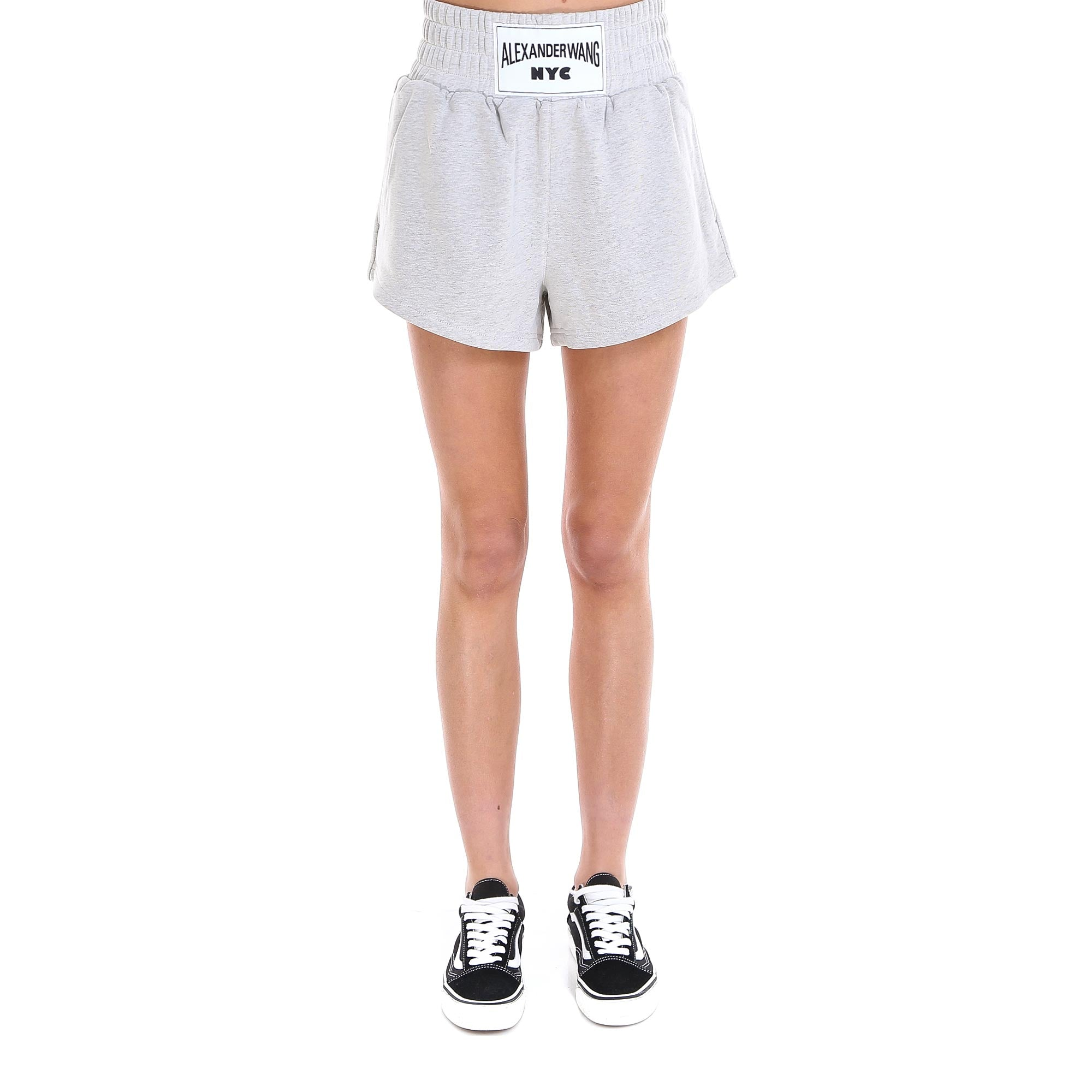 T By Alexander Wang Shorts T BY ALEXANDER WANG LOGO PATCH SHORTS