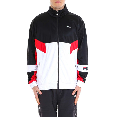 Fila Zipped Colour Block Logo Track Jacket