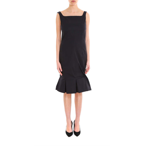 Karl Lagerfeld Pleated Empire Dress