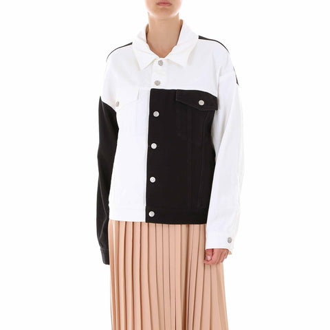 Mm6 Maison Margiela Monochrome Colour Block Jacket