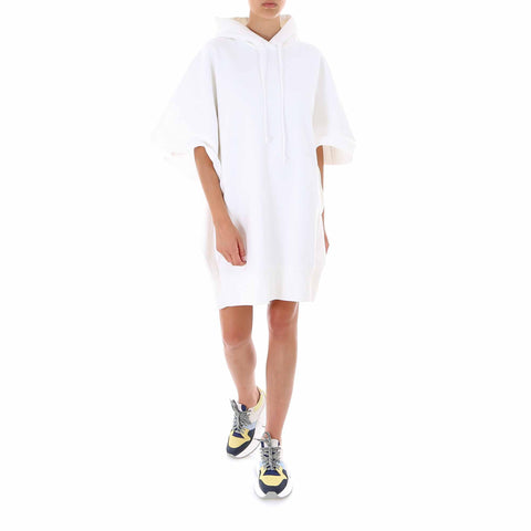 Mm6 Maison Margiela PVC Print Long Line Oversized Hoodie