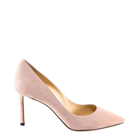 Jimmy Choo Suede Romy 85 Pumps
