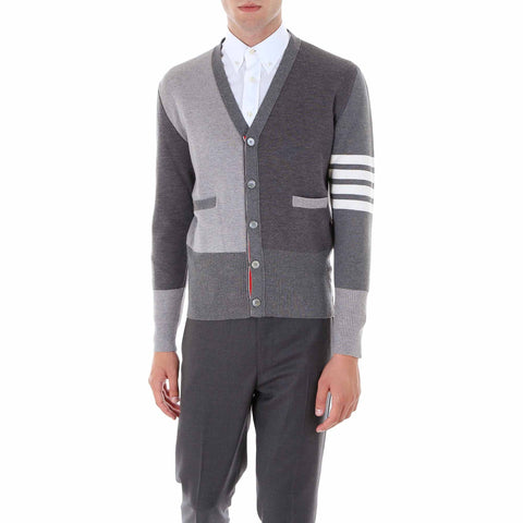 Thom Browne Fun-Mix Milano Stitch Cardigan