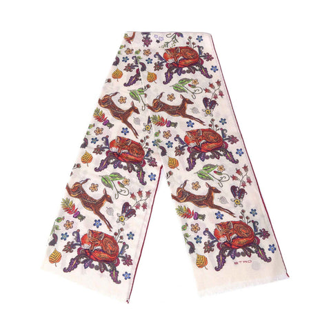 Etro Mixed Printed Scarf