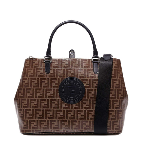 Fendi FF Logo Monogram Shoulder Bag