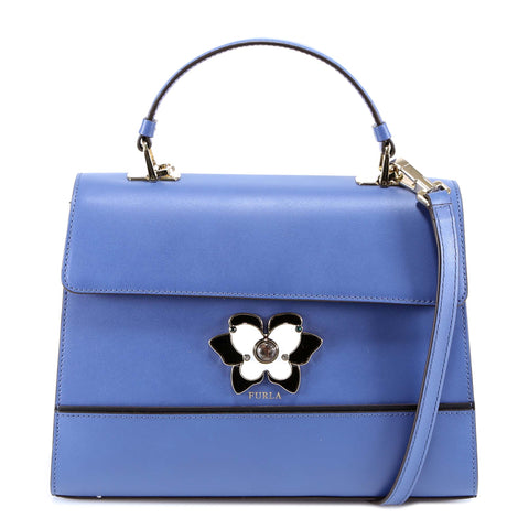 Furla Mughetto Butterfly Clasp Shoulder Bag