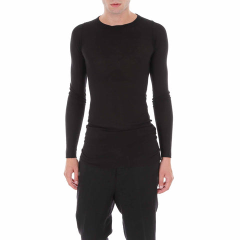 Rick Owens Ribbed Long Sleeve Tee