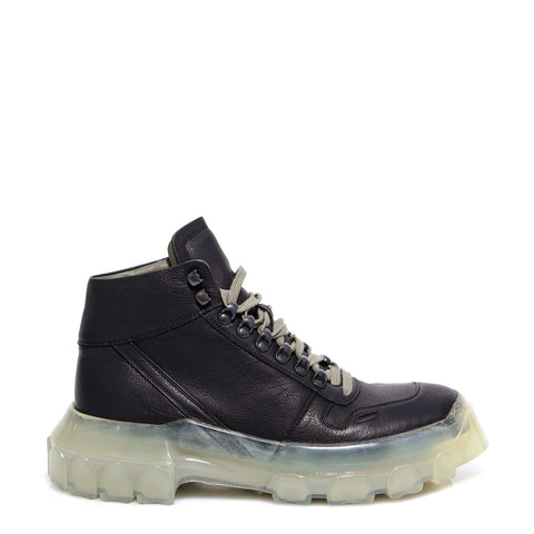 Rick Owens Larry Tractor High Top Sneakers