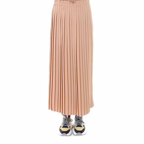 Mm6 Maison Margiela Pleated Waistband Midi Skirt