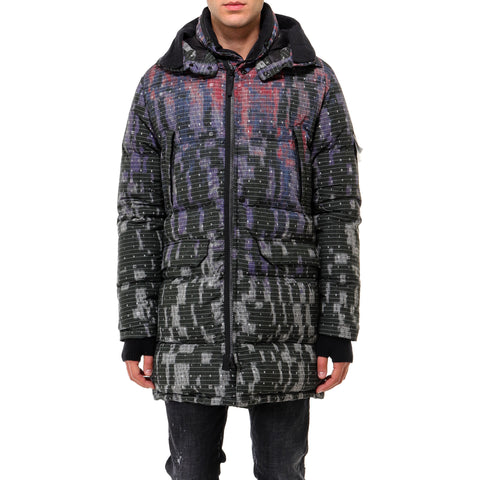 Stone Island Shadow Project Printed Down Parka