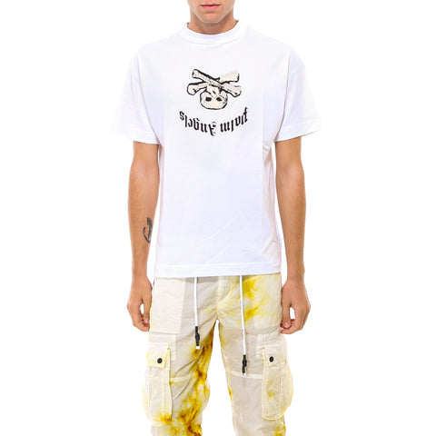 Palm Angels Print Crew Neck T-Shirt