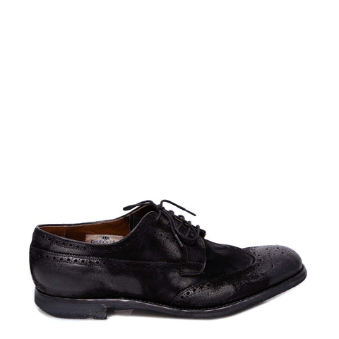 Church's Perforated Detail Lace-Up Shoes