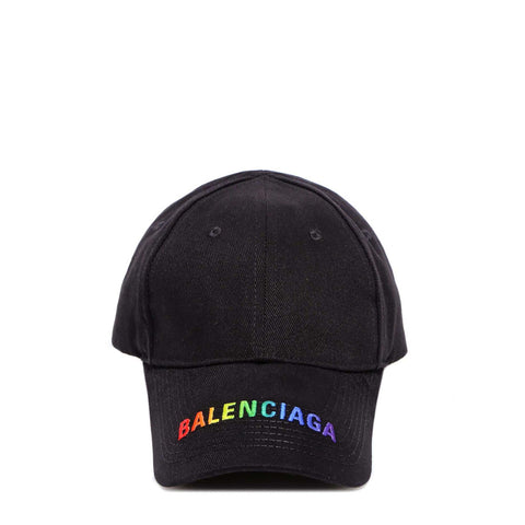 Balenciaga Logo Embroidered Baseball Cap