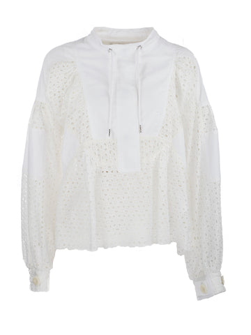 Sacai Dot Lace Shirt