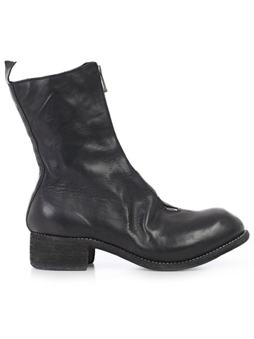 Guidi Zip Ankle Boots