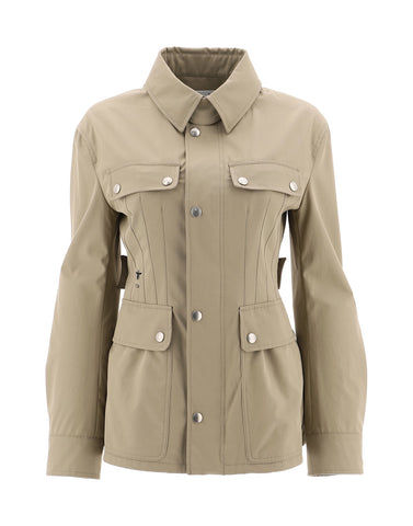 Dior Button-Front Military Coat
