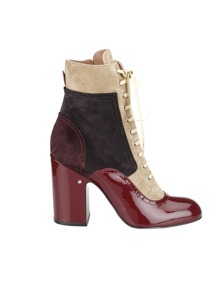 Laurence Dacade 'Manon' Heeled Lace-Up Booties