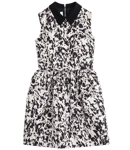 McQ Alexander McQueen Collar Party Dress