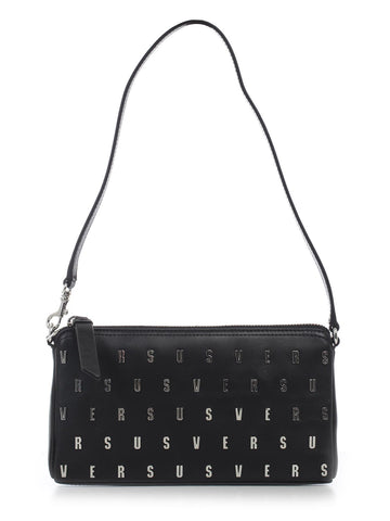 Versus Logo Studded All Over Shoulder Bag