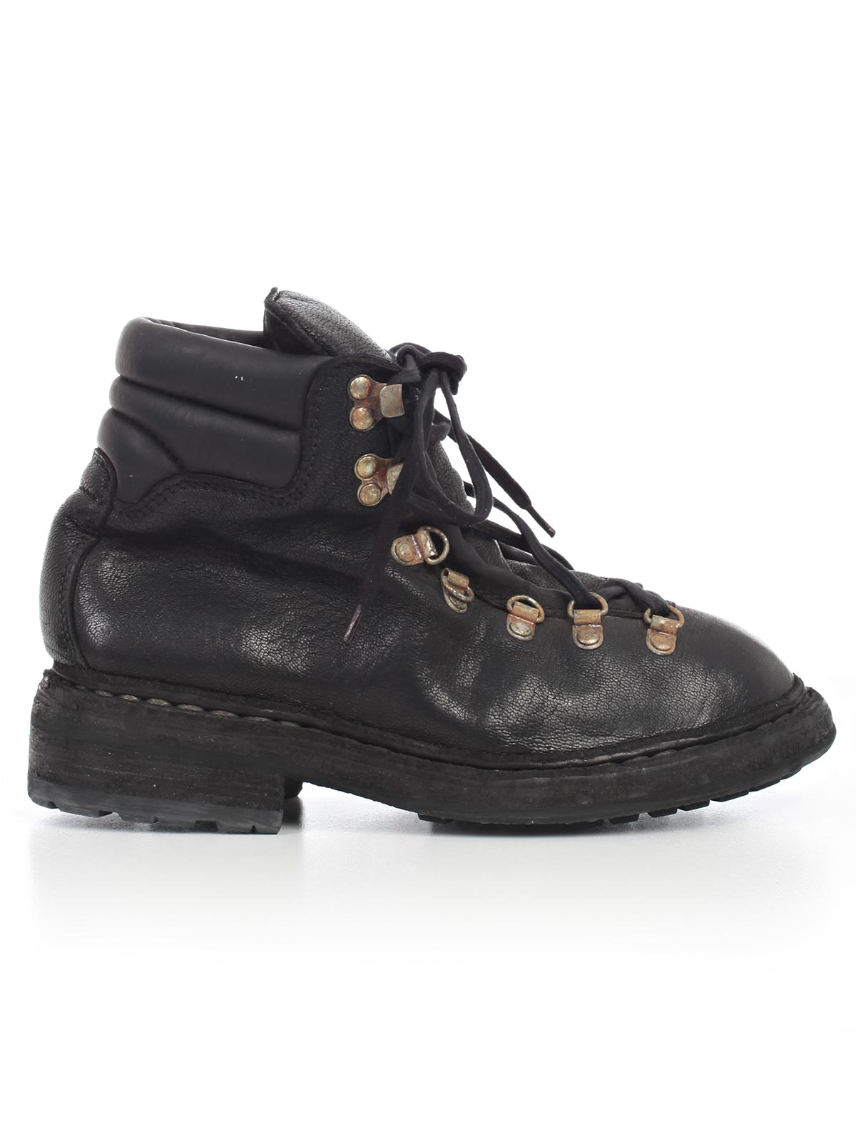 GUIDI DISTRESSED MOUNTAIN BOOTS