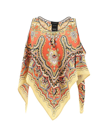 Etro Sleeveless Patterned Top