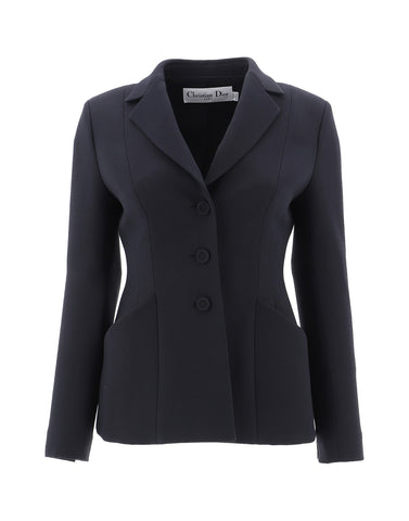 Dior Fitted Button Blazer