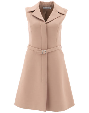 Dior Sleeveless Flared Dress