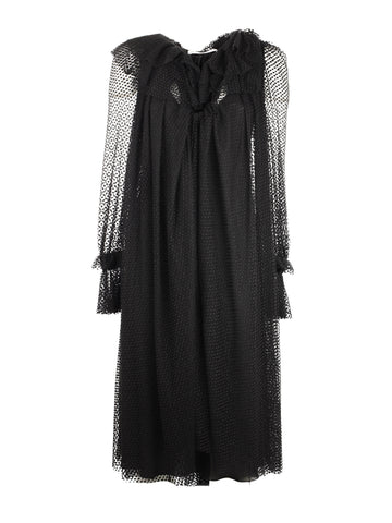 Philosophy dress with sheer sleeves