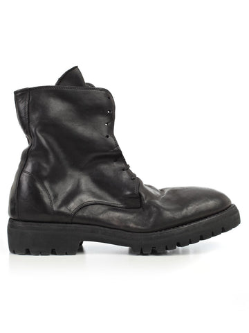 Guidi Distressed Combat Boots